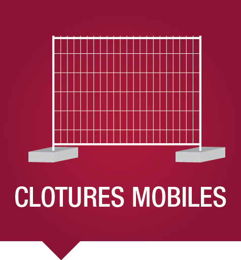 Clôtures mobiles : pour vos évènements ou la sécurisation de vos sites en construction