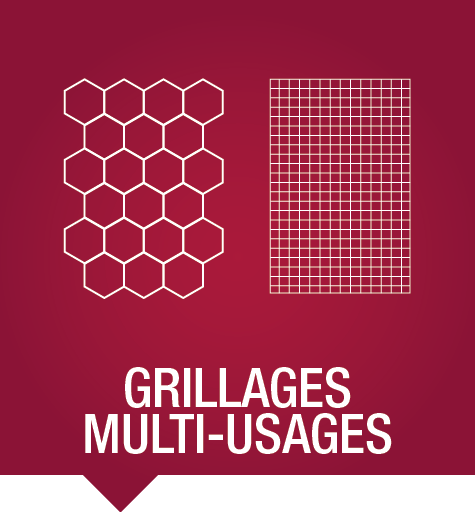 Grillage multi-usages