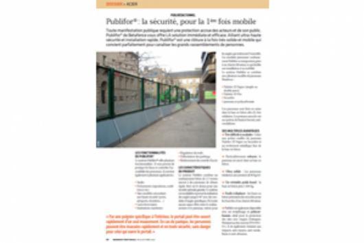 Ingéniere Territoriale dossier Acier : le Publifor est à l'honneur