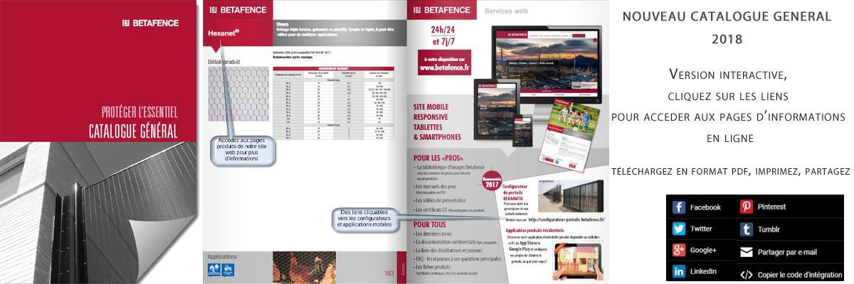 Nouveau catalogue général 2018