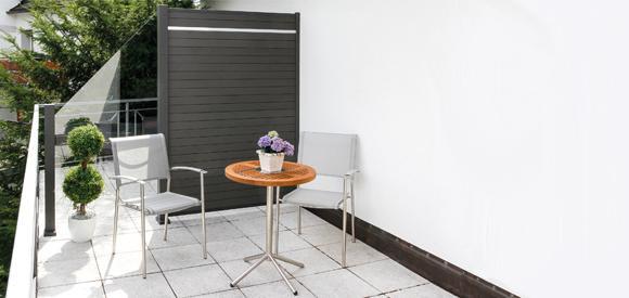 HoriZen® : également pour les balcons de dimensions plus réduites