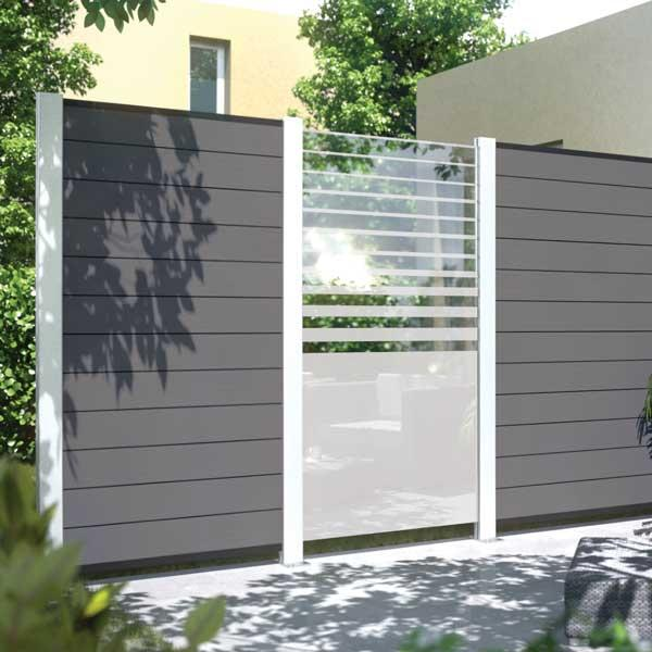 cloture brise vue personnalisable syst me horizen. Black Bedroom Furniture Sets. Home Design Ideas
